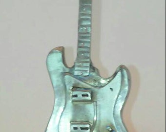 Electric guitar sculpture