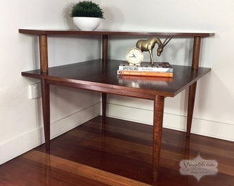 Parker Two Tier Corner Coffee Table