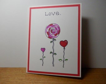 Valentine's Day Card, Valentine, Greeting Card
