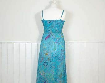 Vintage Paisley Hippy Dress