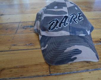Vintage Camo D.A.R.E. Velcro-Back Hat