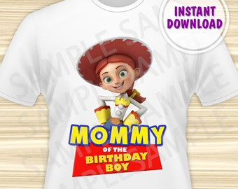 Toy Story Mommy of the Birthday Boy Iron On. Toy Story Iron On Transfer. Toy Story Birthday Shirt. Toy Story Party. DIGITAL FILE.
