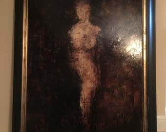"Silhouette by Robert Cook Giclee Limited Edition Signed Painting 48"" X 36"""