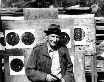 Refrigerator Magnet Kühlschrankmagnet  William Burroughs