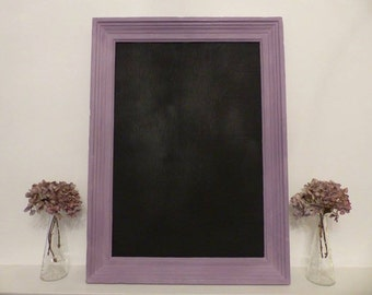 Large Chalk Board// Victorian// French Architrave// Home Sweet Home// Furniture// The Little House of Vintage