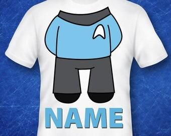 Spock, Star Trek shirt, Star Trek  gift, Star Trek costume, Star Trek  birthday