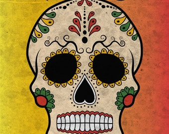 Day Of The Dead, Sugar Skull Poster