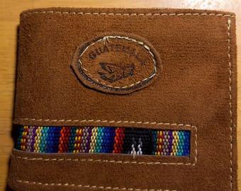 Guatemalan leather wallet