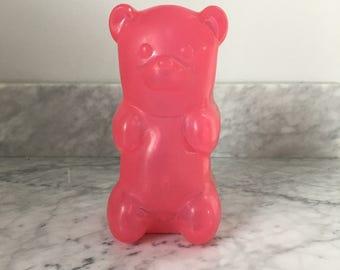 Pink Gummy Bear Nightlight - Adorable!!!