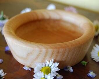 Ciotola in legno di frassino, small bowl in ash wood, woodturning, tornitura legno, artigianato, handmade, legno, wood, rustic home decor