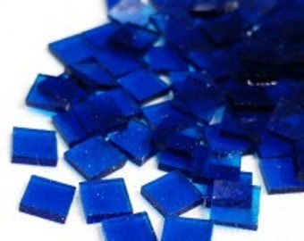 Mini Stained Glass - Clear Turquoise- 50g