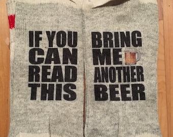 Bring Me beer Socks