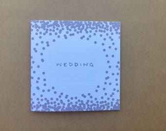 Wedding + Baby Greeting Cards / Pack of 5