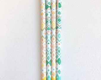 Boho Chic Gel Pen. Back to school. Stationery. Party Favours. Stocking Fillers. Gifts