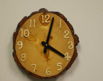 Natural Edge Wall Clock
