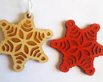 Oxley Snow Flake Christmas Tree Ornament