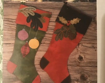 Wild Thymes Pattern Co Christmas stocking pattern