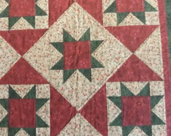 Tom's Christmas Star quilting pattern