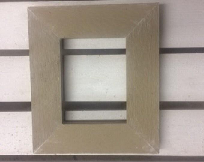 """Rustic Cedar frame Finish-IT-Yourself (1 1/2"""" face)"""
