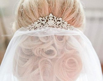Luxury Crystal Hair Comb