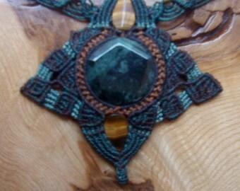 Necklace Jade mandala bracelet tiara