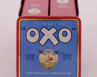 1985 Limited Edition Oxo Tin