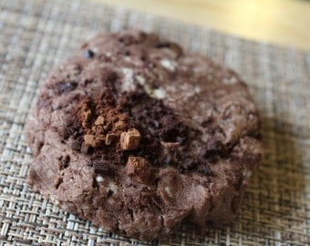 Two Dozen Peppermint Cocoa Protein Cookies- Vegan, Vegetarian, Gluten Free, Sugar Free, Paleo, Clean Eating
