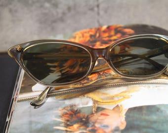 Vintage Cat Eye Sunglasses, Vintage Sunglasses Cat Eye Glasses, Plastic Sunglasses Retro Sunglasses, Vintage Eyewear, Sunglasses for Women