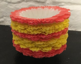Fancy 1950s Frilly Cake Cases