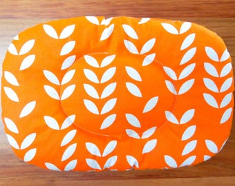Food Trivet Placemat With Clove Aroma - Orange Leaves