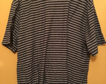 Izod striped Shirt Size XL
