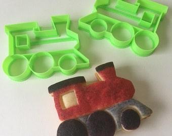 Steam Train Engine Cookie Cutter Set