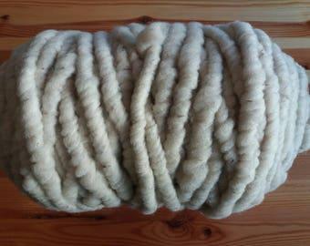Organic wool yarn Coburg Fox beige / grey