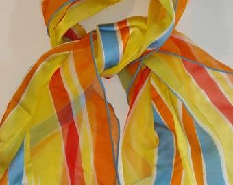 Vintage Vera silk blend scarf - Verasheer