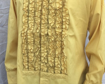 70s Tuxedo Shirt