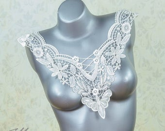Lace insert - white - No. 06