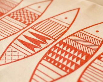Red Fish Placemat