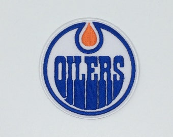 Edmonton Oilers Embroidered Iron On Patch