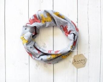 Cowl scarf - Children's scarf - Modern bib - Modern scarf - Children's cowl scarf - Boys scarf - Boys cowl scarf