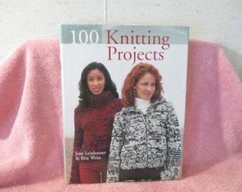A Gently used Knitting Book by J. Leinhauswer & R. Weiss