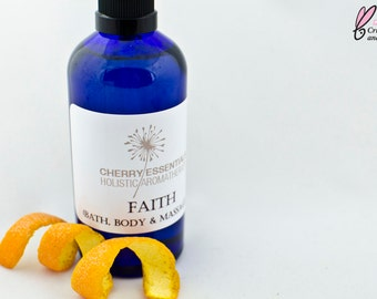 Faith (Orange & Vanilla Body Oil)
