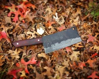Hand Forged Cleaver - Butcher Knife - Kitchen Knife - Chef Knife