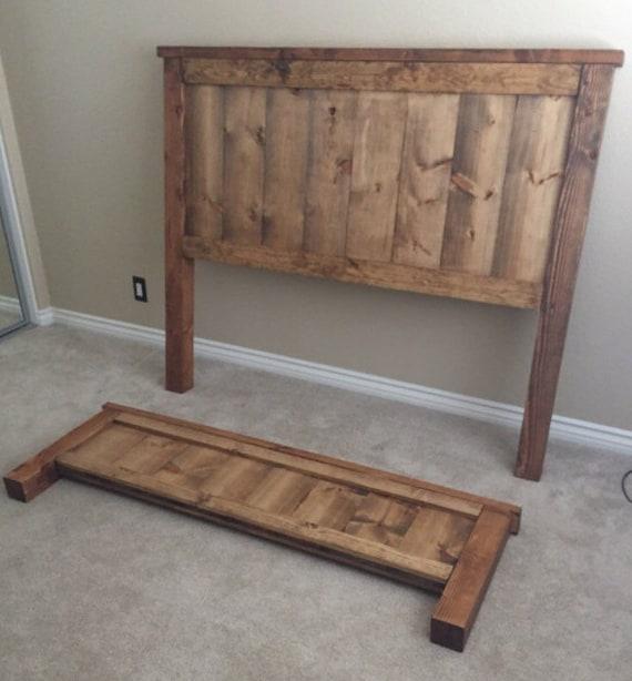 Wood Headboard Farmhouse Headboard Farmhouse bedroom