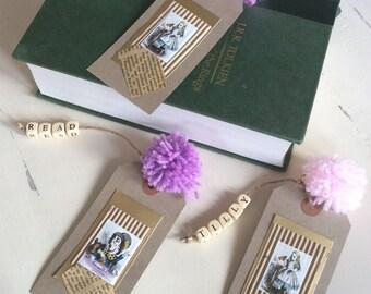 Personalised Bookmarks handmade