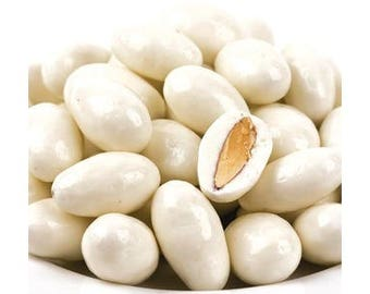 Yogurt Coated Almonds, Candy Buffet Candy, Yogurt Candy, Almonds, Bulk Candy, Candy Buffet, Party Favors, Wedding Favors