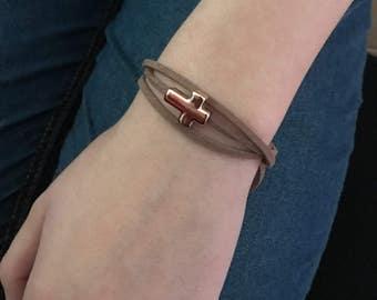 Catholic girl etsy gold cross bracelet easter gifts catholic jewelry easter basket stuffers teen girl negle Image collections