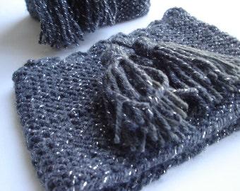 Crochet Christmas gift Gray boot cuff knit boot socks cuffs for bootstassel boot cuffs moss cable cuff women winter cuffs for gift knitting