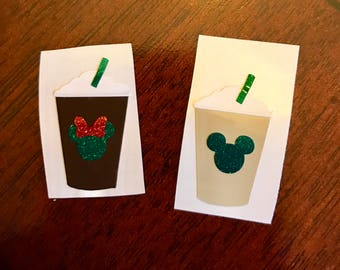 Mickey Starbucks Magic Band Decal!