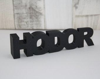 Hodor door wedge, hold the door, door stop, 3D printed, GOT, game of thrones inspired gift