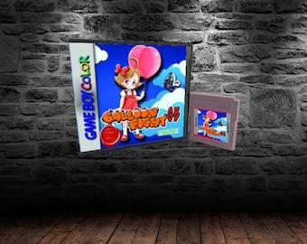Balloon Fight GB - Take to the Skies - GBC - Balloon Kid - Hello Kitty World